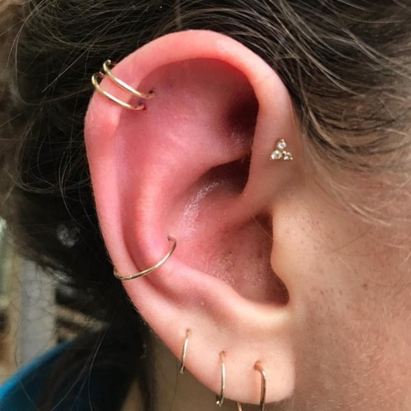 Double Helix Piercing The Complete Experience Guide With Meaning