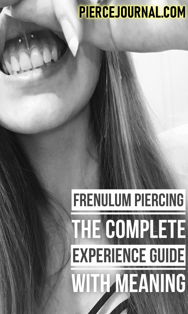 Frenulum Piercing: The Complete Experience Guide With Meaning