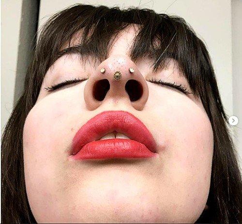 pierce journal septril piercing nose tip piercing 5